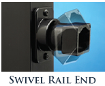 Swivel Rail End