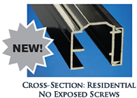 Cross-Section Residential No Exposed Screws